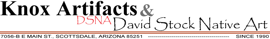 Knox Artifacts & David Stock Native Art